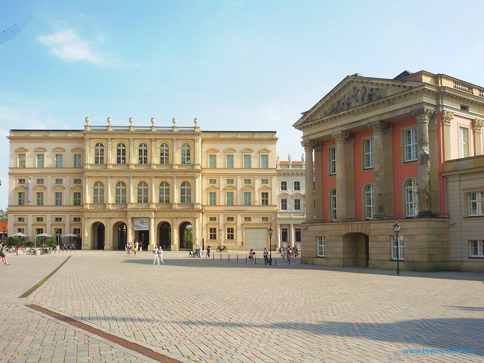 bye:myself - Renata Green - byemyselftravels: Potsdam Barberini Museum