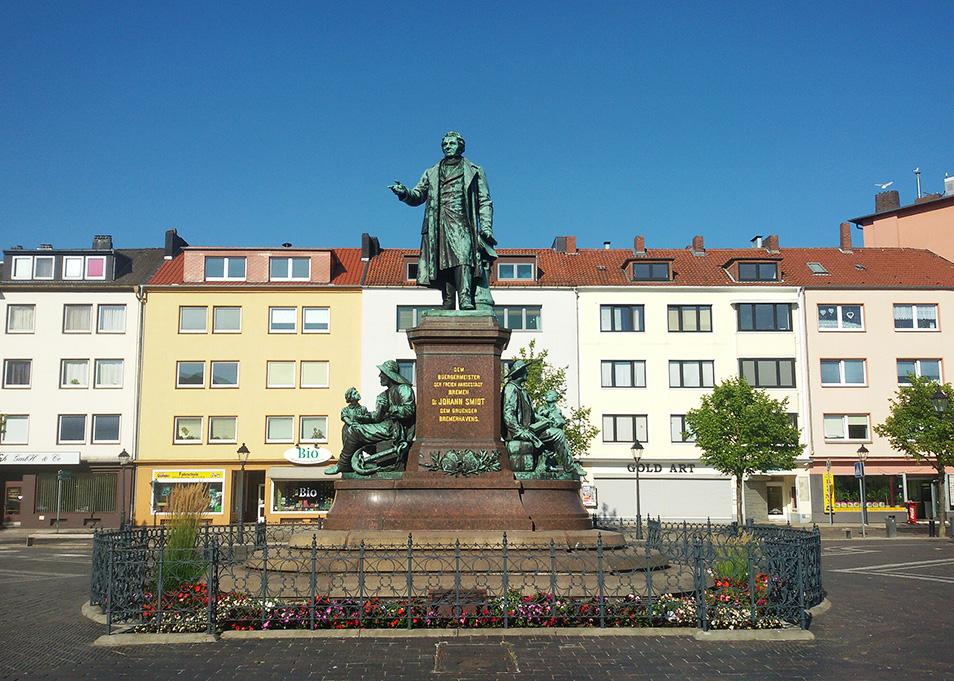 Statue Johann Smidt