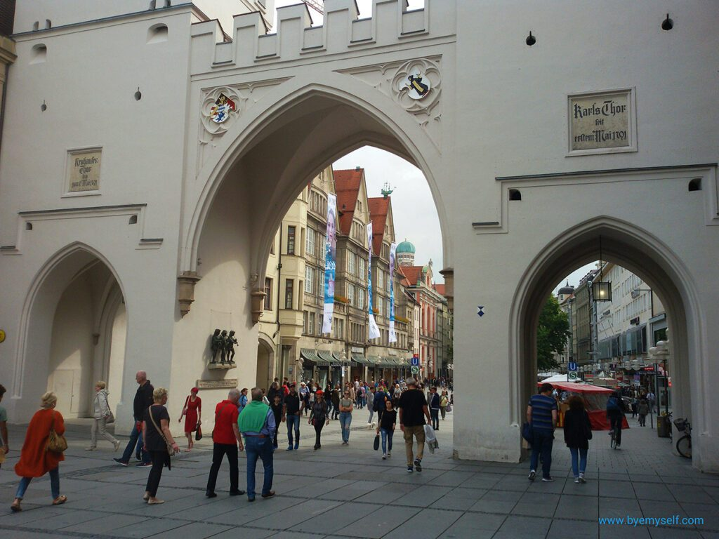 Karlstor - you'll certainly pass through during 24 hours in Munich