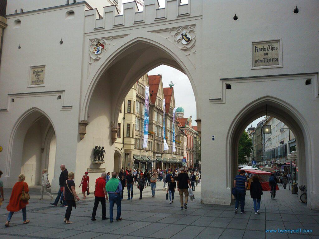 Karlstor München Munich Germany