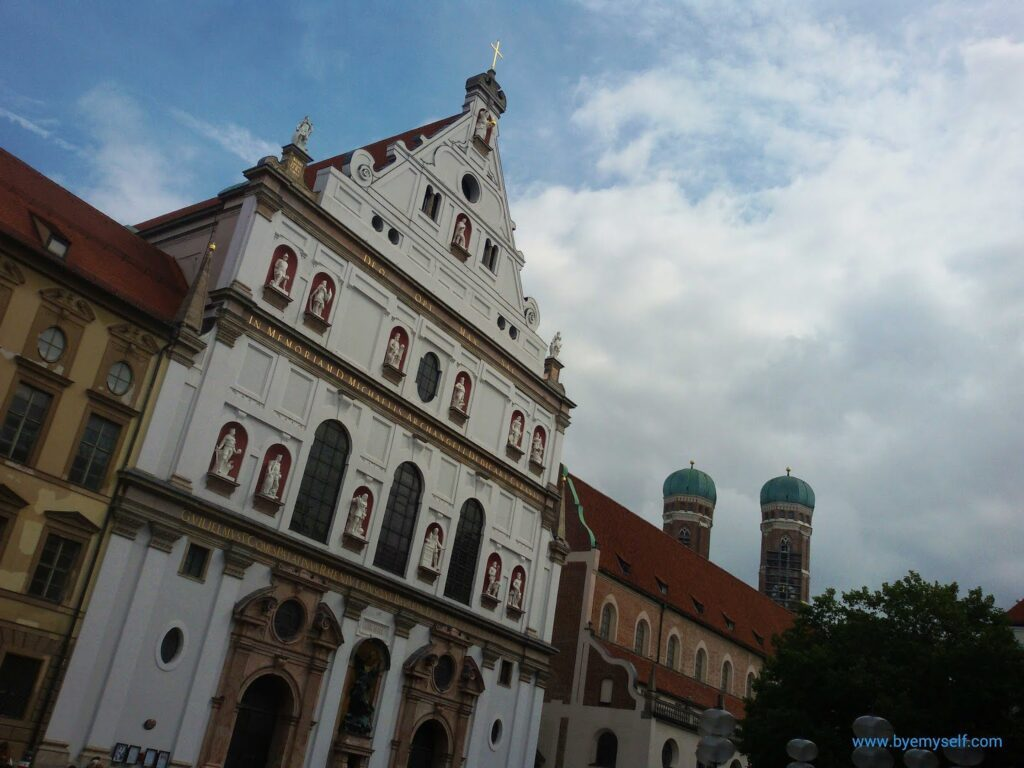 St Michael Kirche, a must when visiting for 24 hours in Munich