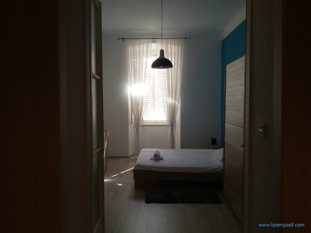 An Apartman in Rijeka, Istria, where I stayed during my bus road trip through Croatia