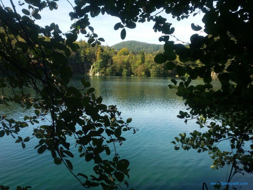 Lake in Plitvice