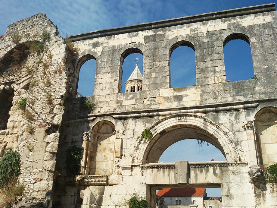 The Silver Gate in Split
