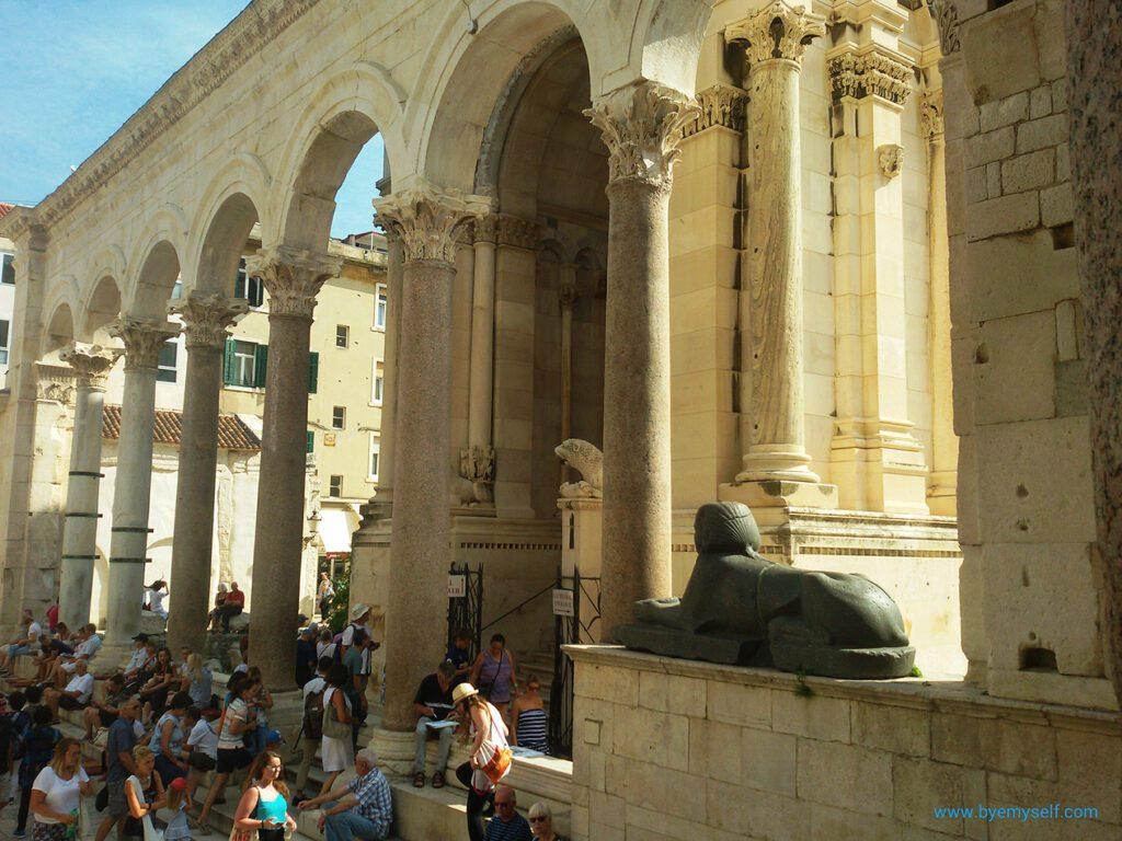 The Sphinx in Split