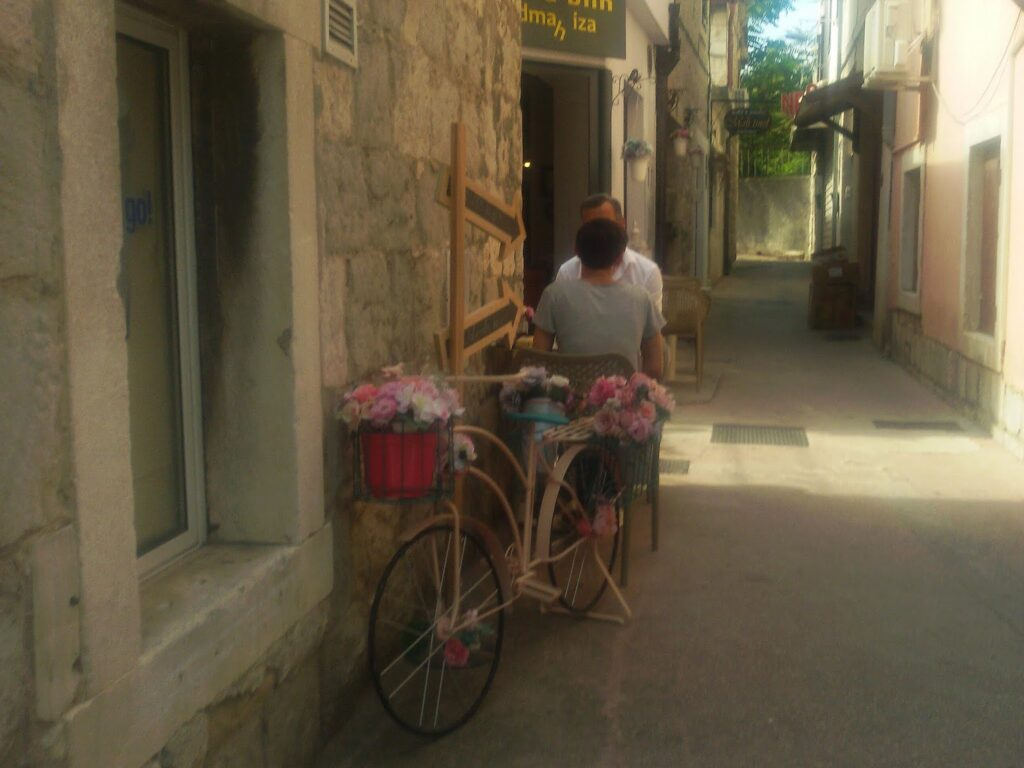 Café in Split Croatia Dalmatia