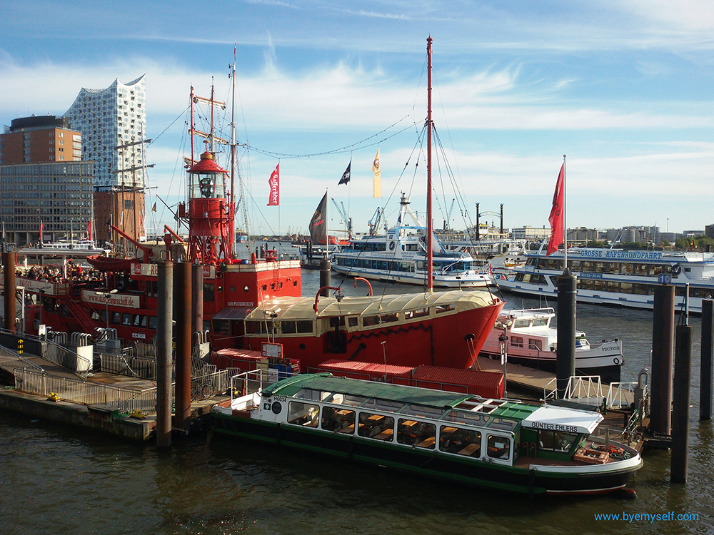 The Feuerschiff at the harbor of Hamburg illustrating a Comprehensive Guide to Hamburg