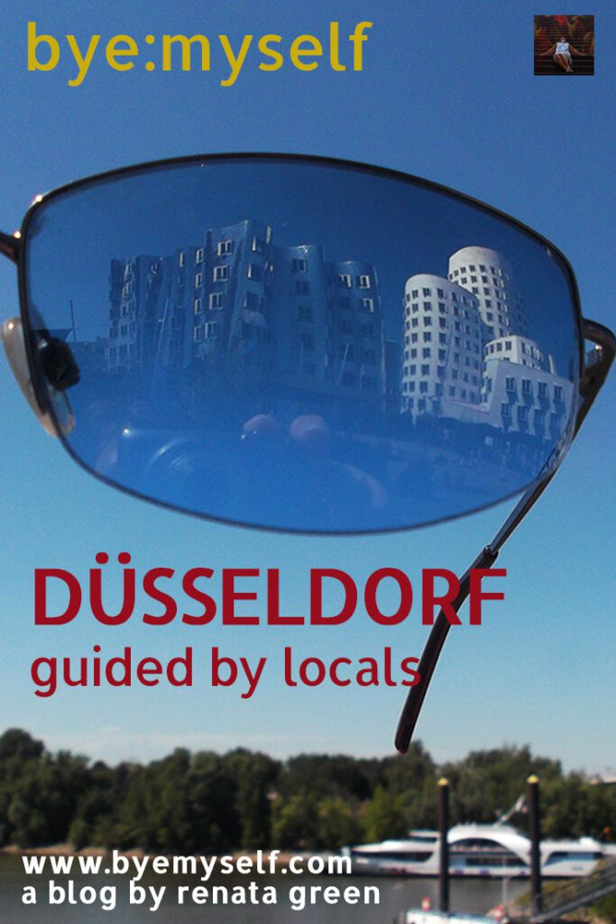 Pinnable Picture for the Post on Düsseldorf guided by locals