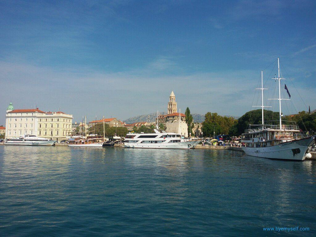 Split - one of Croatia's most beautiful cities.