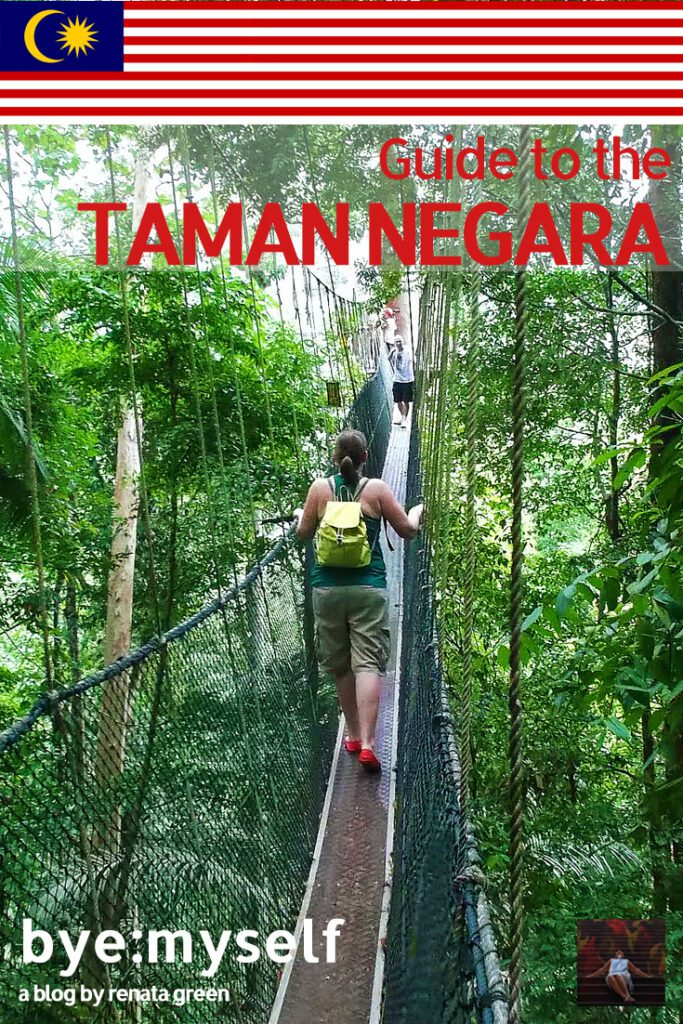 Pinnable Picture for the Post on the Taman Negara