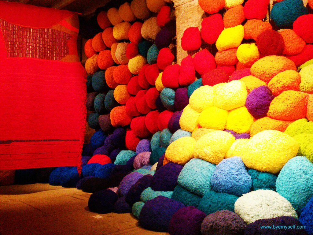 Sheila Hicks Escalade Beyond Chromatic Lands?!