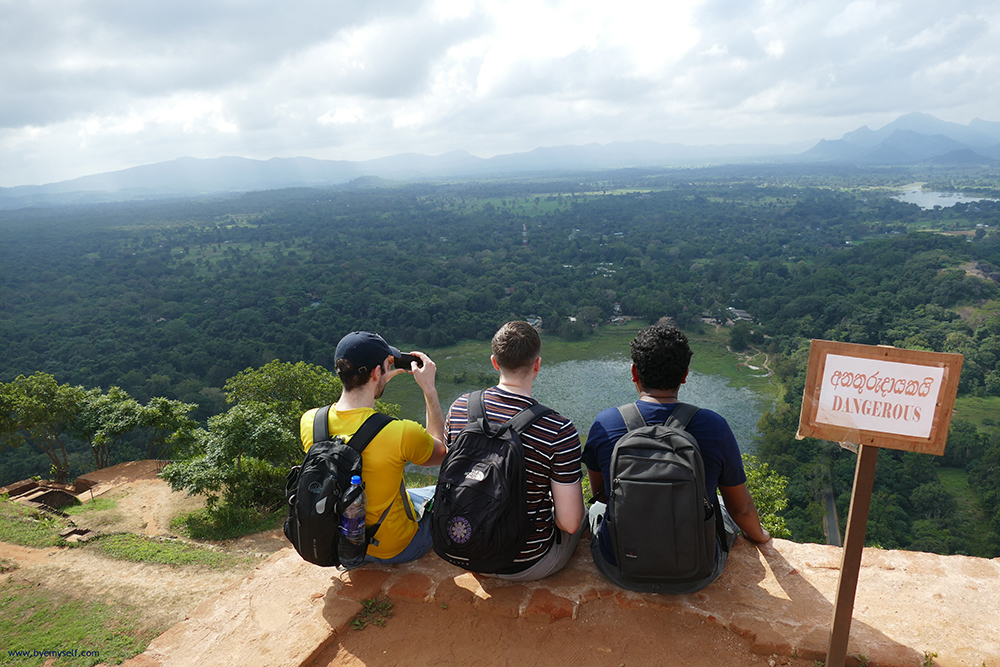 bye:myself - Renata Green - byemyselftravels: Lion Rock Sigiriya Sri Lanka