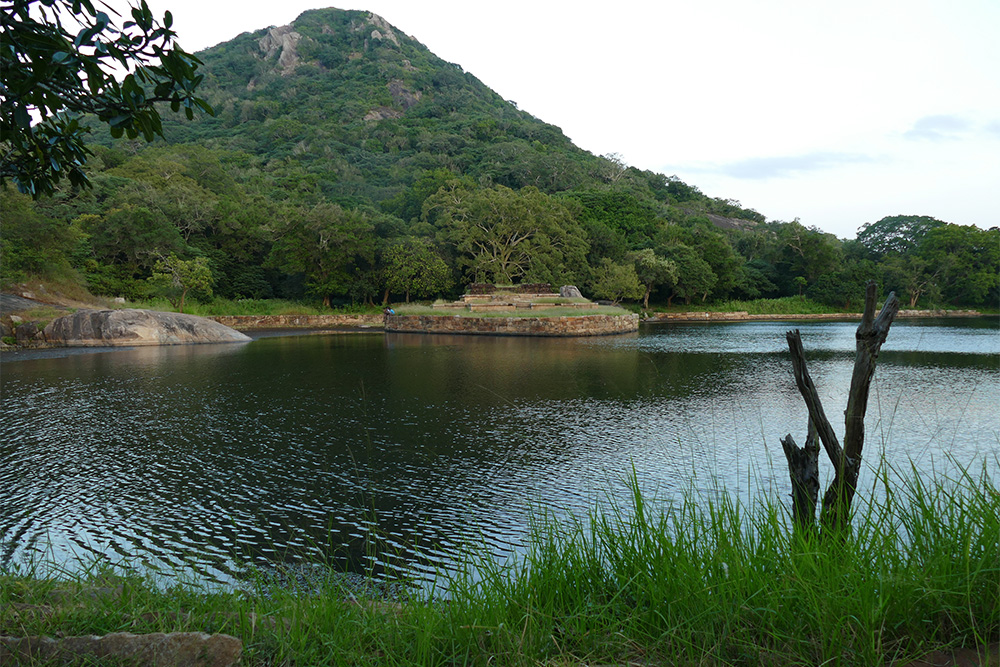 One of the ponds. in Mihintale Sri Lanka