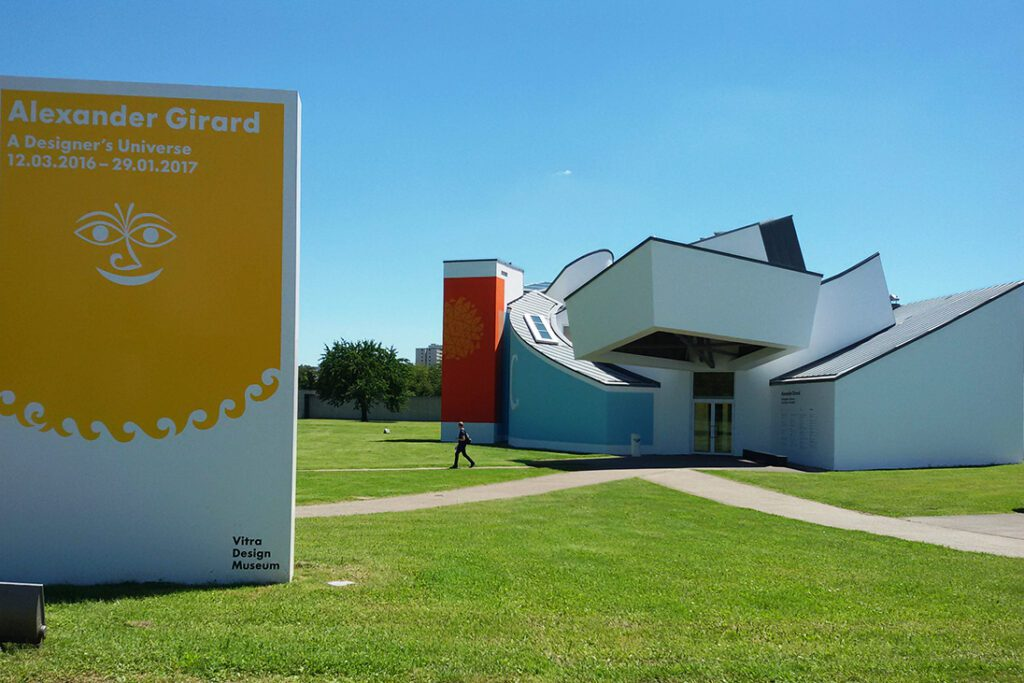 Vitra Museum by Frank Gehry