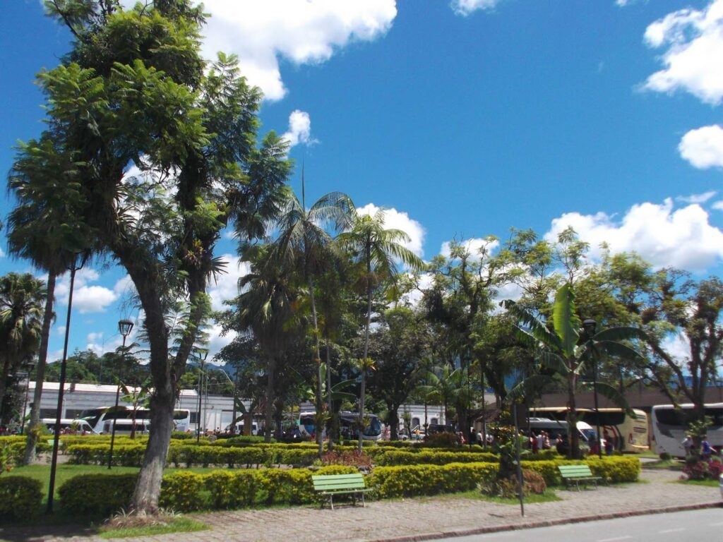 Arriving in picturesque Morretes on a day trip from Curitiba