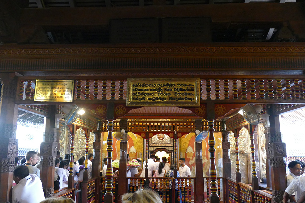 Sri Dalada Maligawa in Kandy