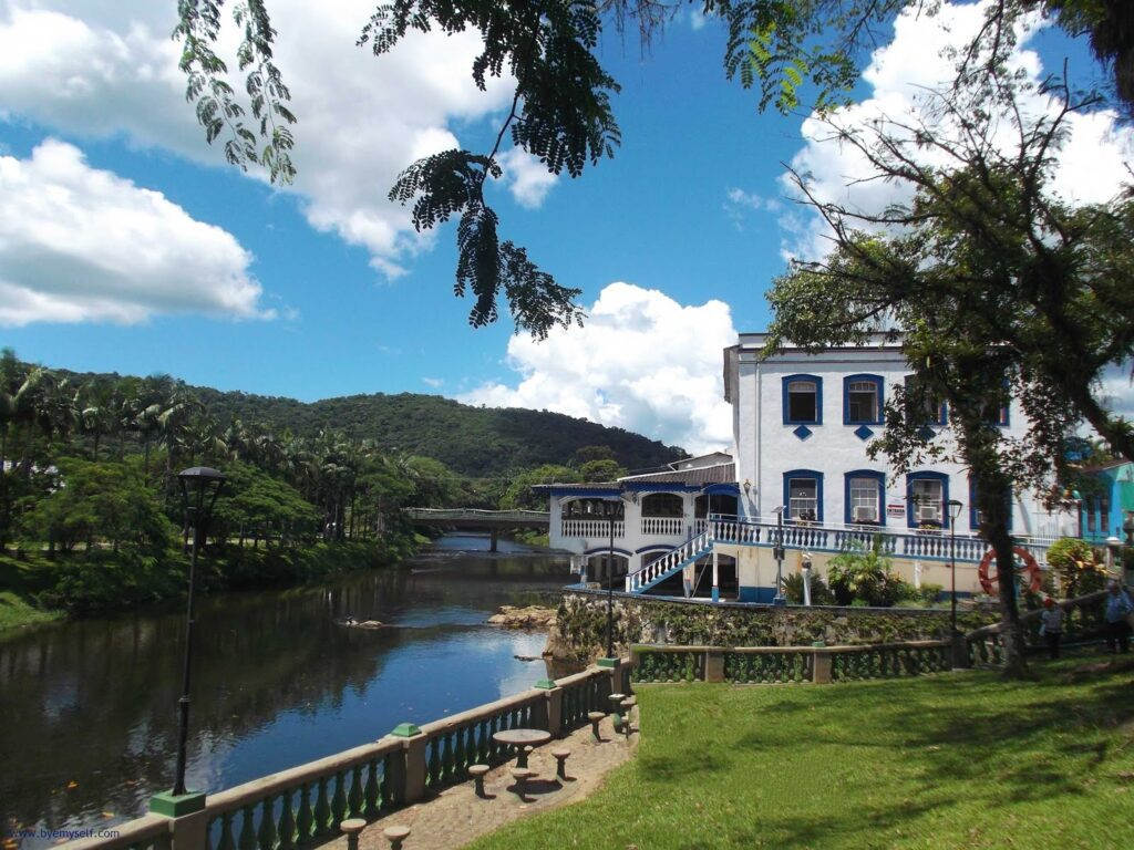 picturesque Morretes visited on a day trip from Curitiba