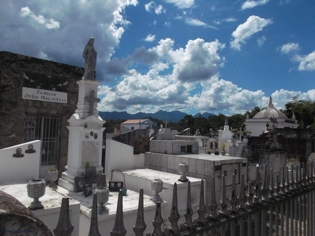 Old cemetery in Morretes, seen on a day trip from Curitiba