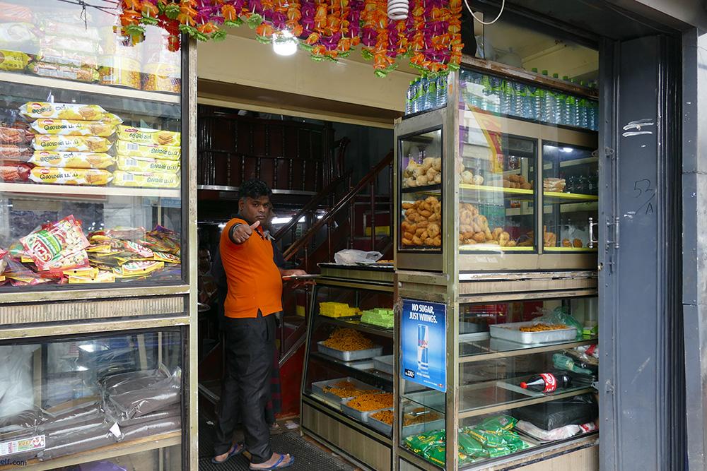 Tamil eatery at Nuwara Eliya