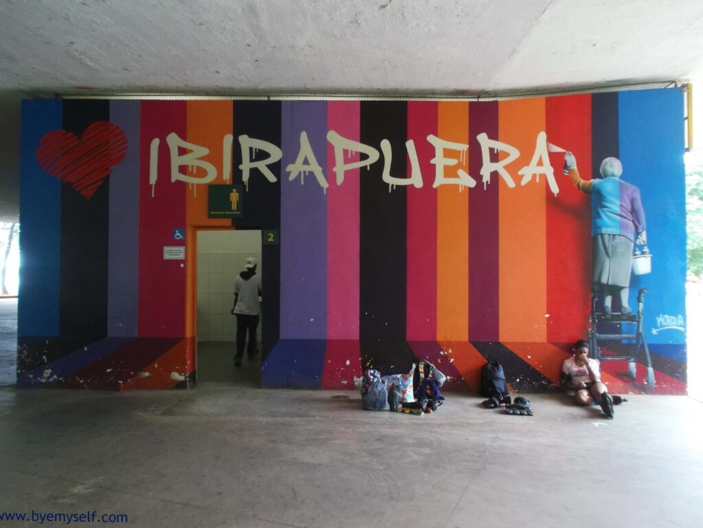 Sao Paulo - Eduardo Kobra / bye:myself - Renata Green - byemyselftravels