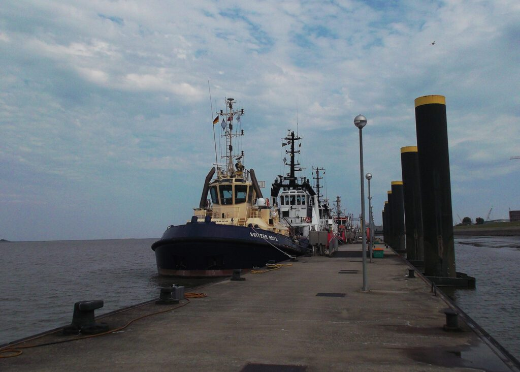 Bremerhaven Tugboats on the Weser