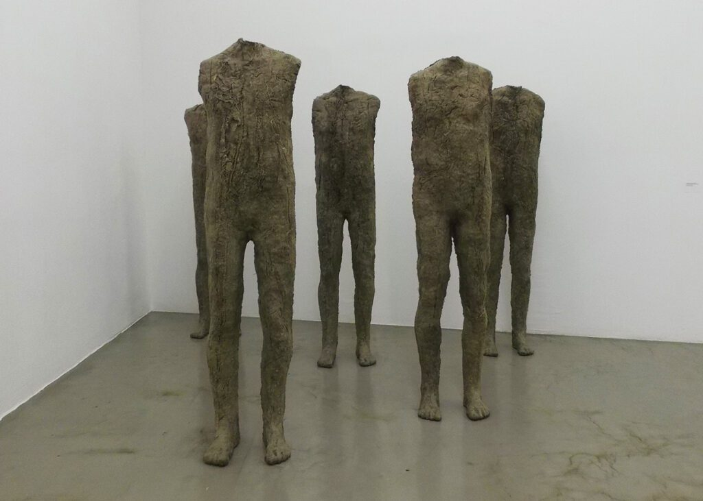 Statue by Magdalena Abakanowicz
