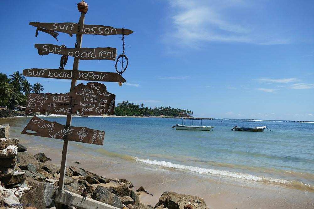 bye:myself - Renata Green - byemyselftravels: Mirissa Weligama Tangalle Midigama Beaches Sri Lanka