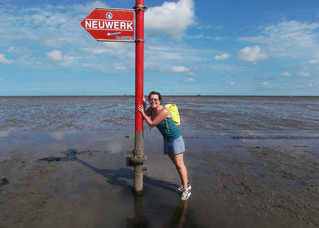 Hike on tideland from Cuxhaven to Neuwerk