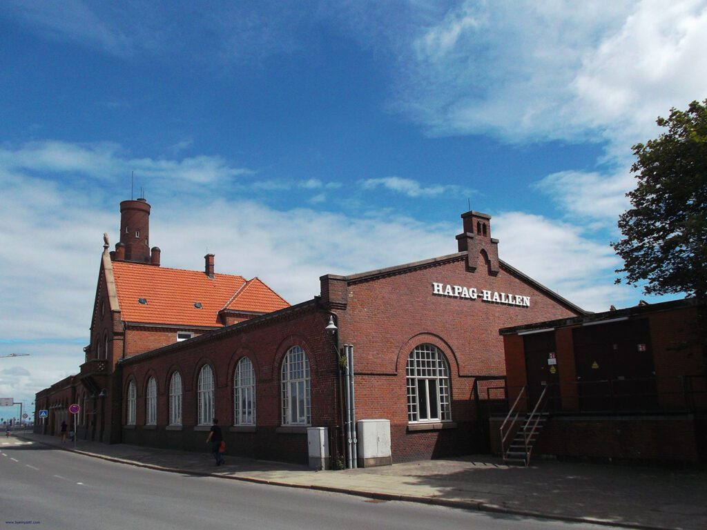 Cuxhaven Hapag-Hallen from where people were coming to America