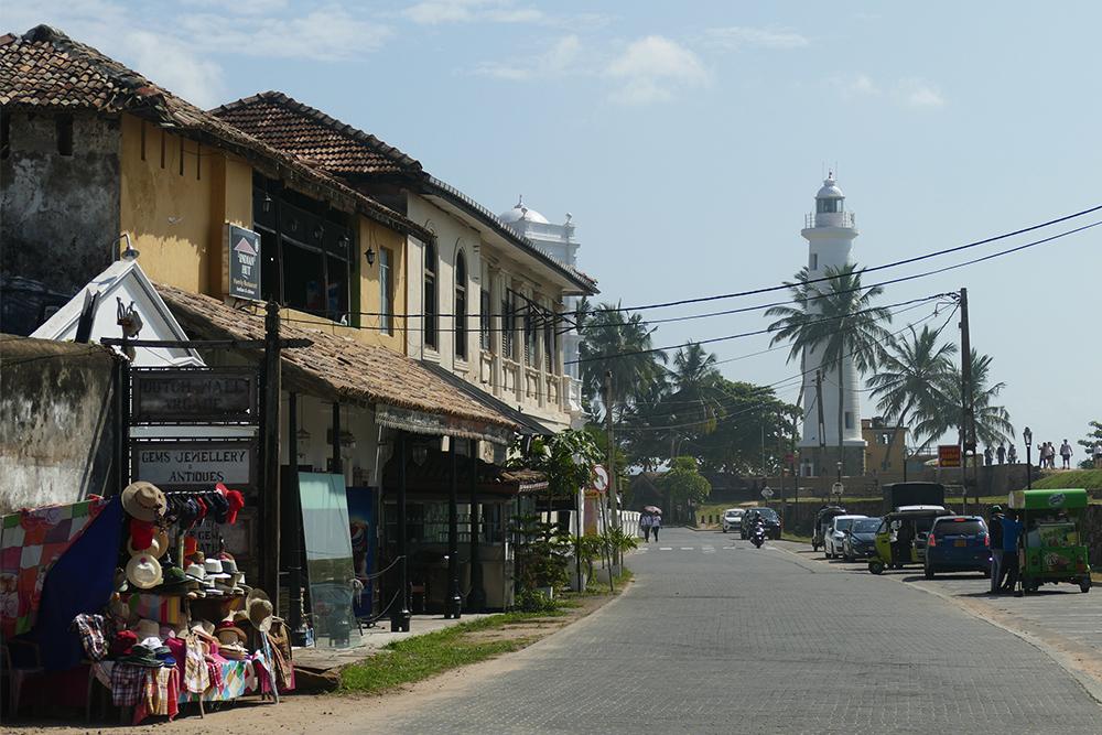 The Indian Hut Restaurant in Galle Fort Sri Lanka