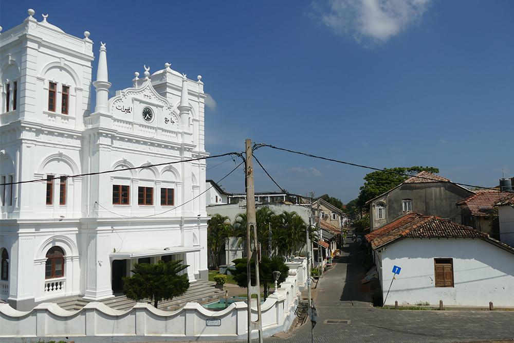 Mosque Meeran Jumma in Galle Fort Sri Lanka