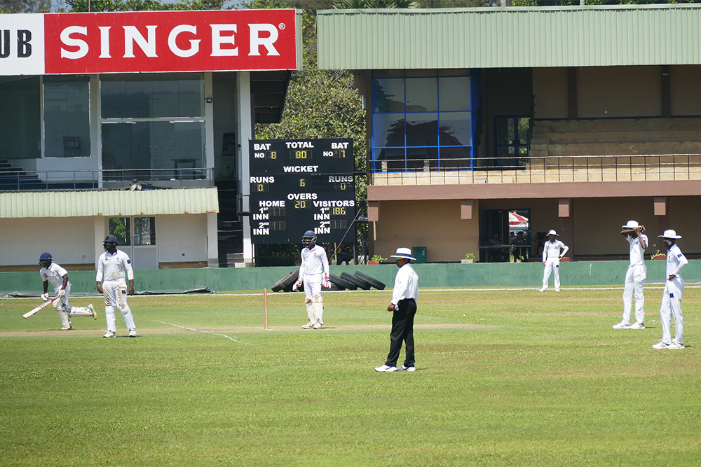 Cricket Player Galle Fort Sri Lanka