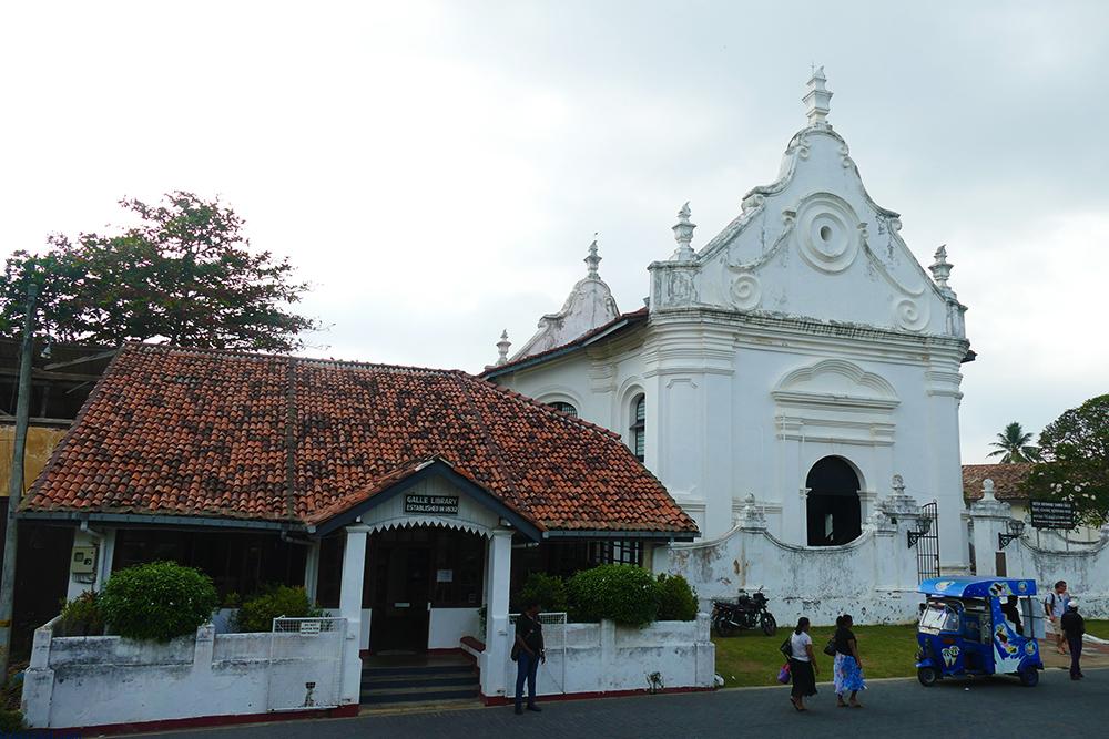 Groote Kerk in Galle Fort Sri Lanka