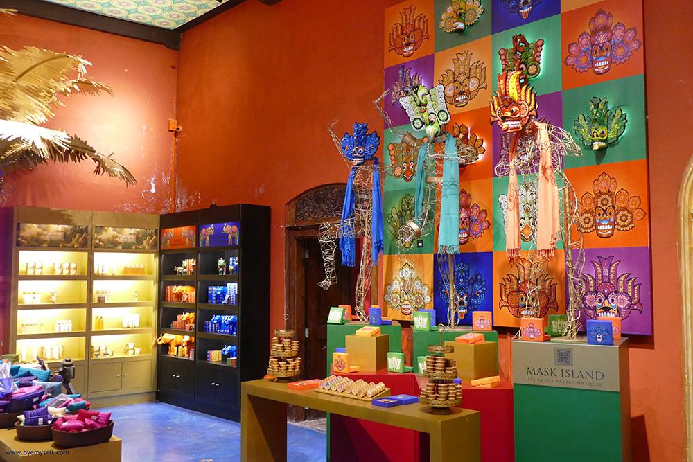 Spa Ceylon Luxury Ayurveda Store in Galle