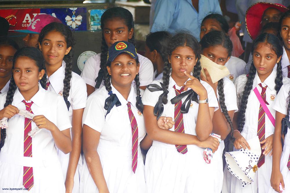 School Girls in Sri Lanka