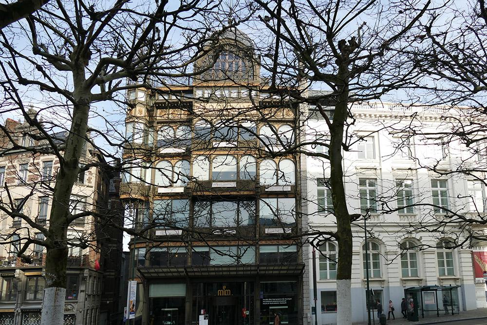 Musée des instruments de musique. Brussels