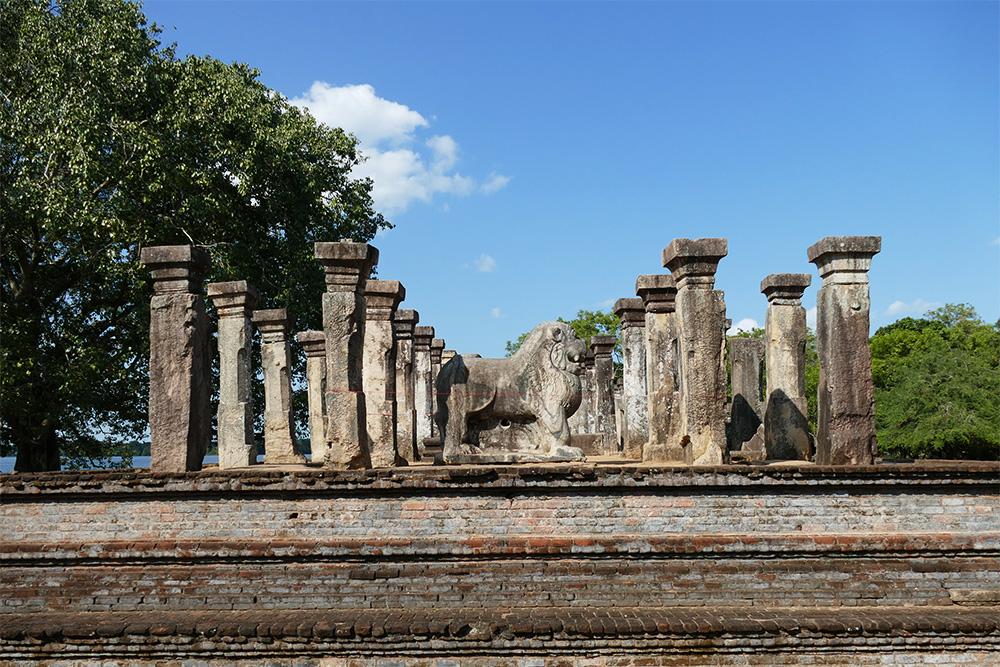 King Nishshanka Malla's Palace in Polonnaruwa
