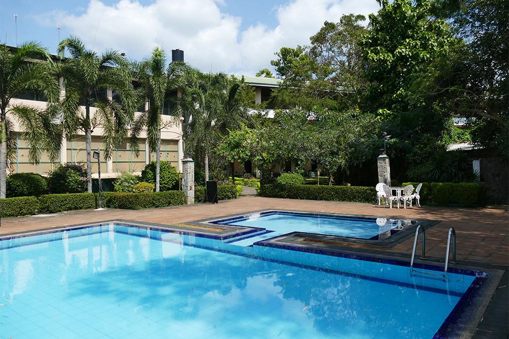 Hotel at Anuradhapura Mihintale Sri Lanka