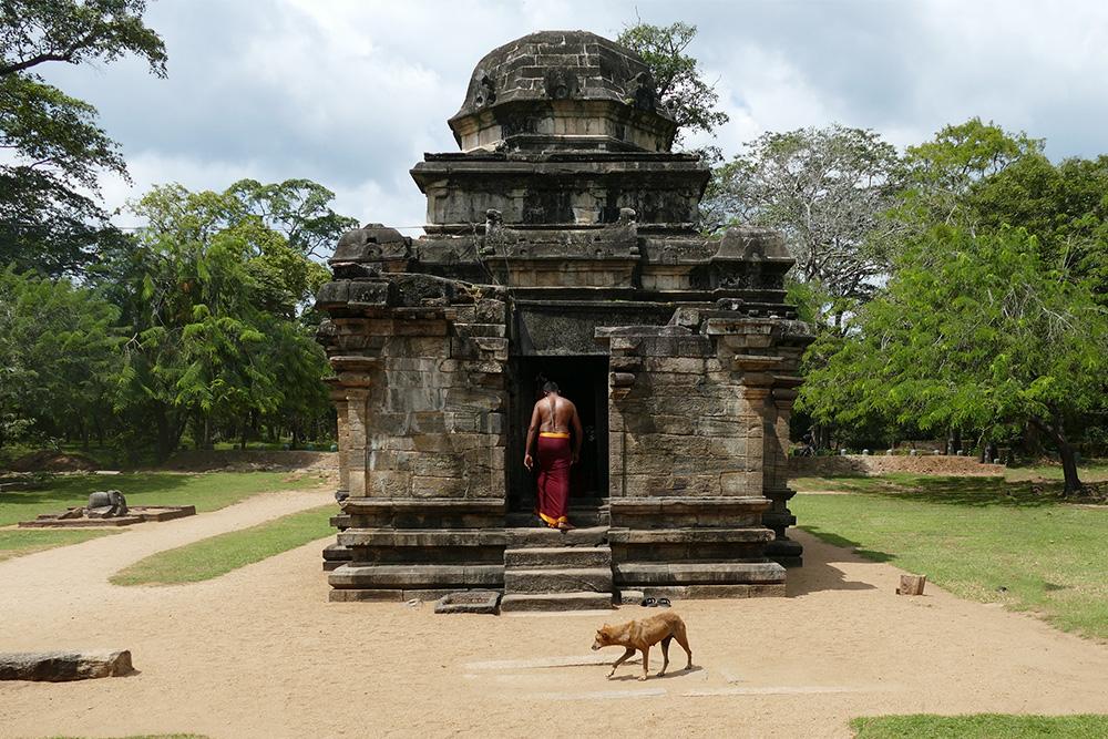 The Shiva Devale in Polonnaruwa Sri Lanka