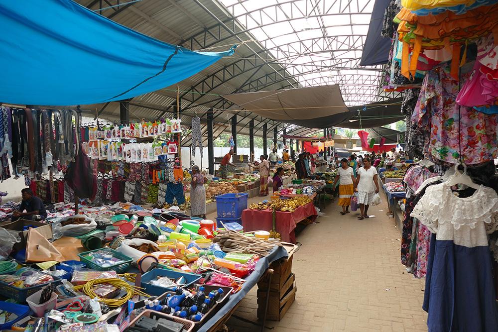 Market in Polonnaruwa Sri Lanka