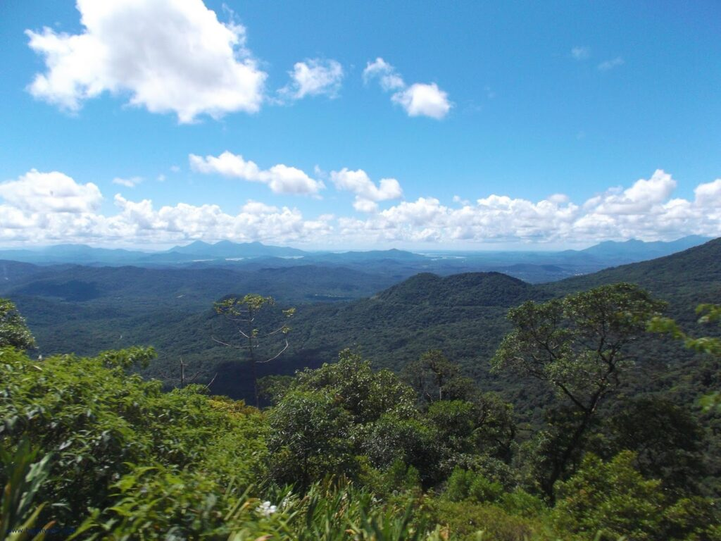 Lush sceneries around Morretes on a day trip from Curitiba