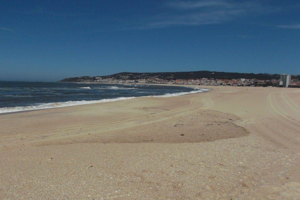 Beach in Figueira da Foz