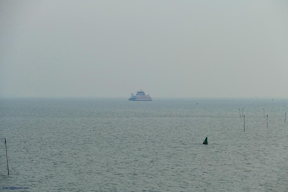 Ferry from Dagebüll to Wyk