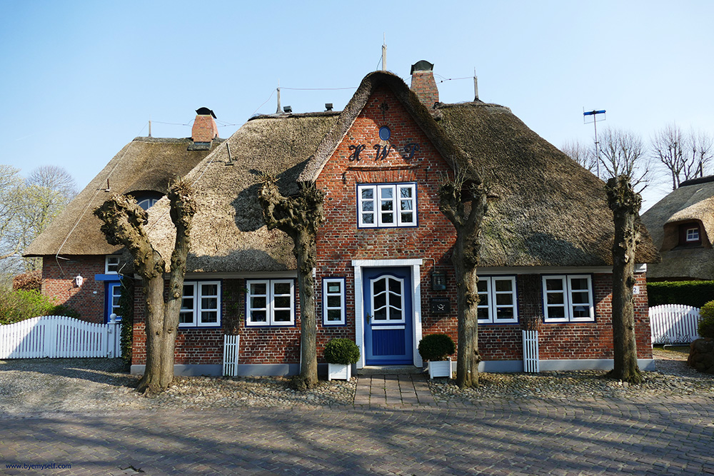 House at Nieblum on the Island of Föhr