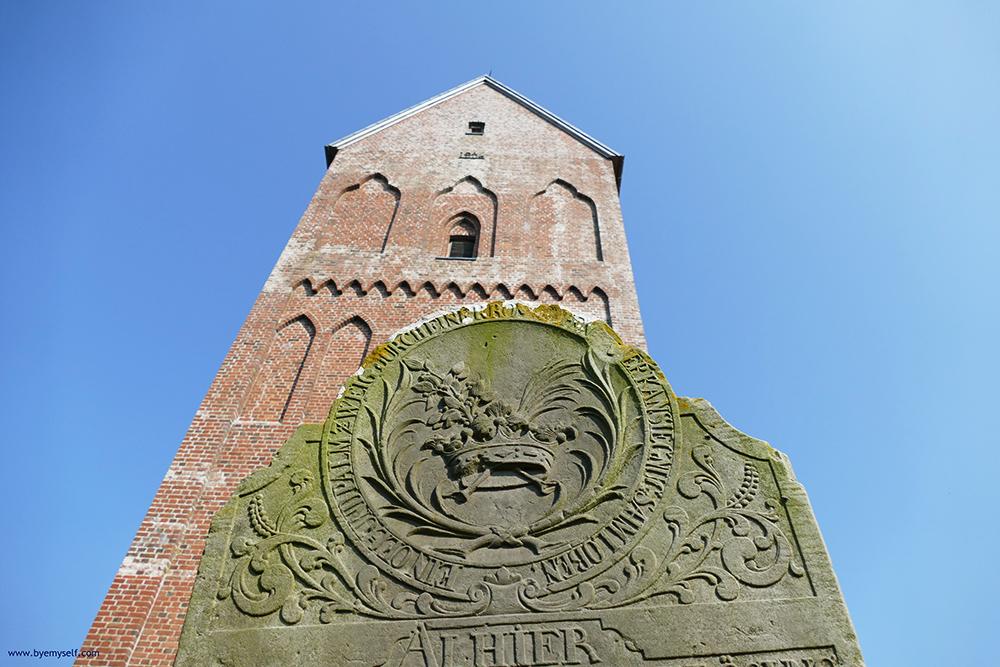 Talking Gravestones at Saint John Church at Nieblum