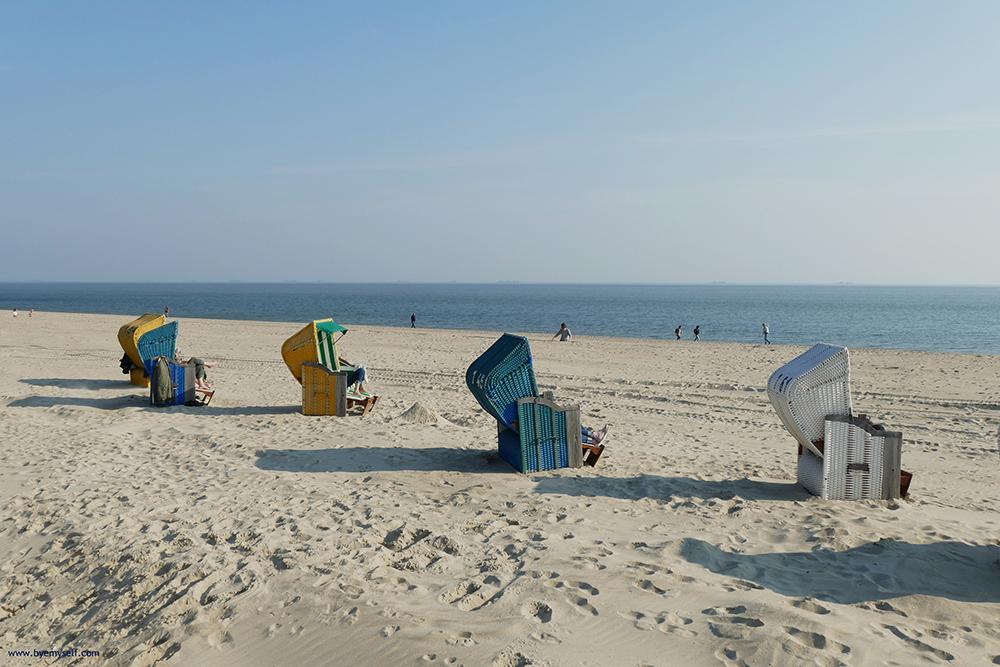 Beach on the Island of Föhr