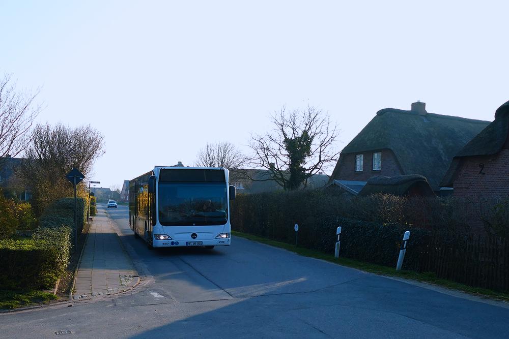 Bus on the Island of Föhr