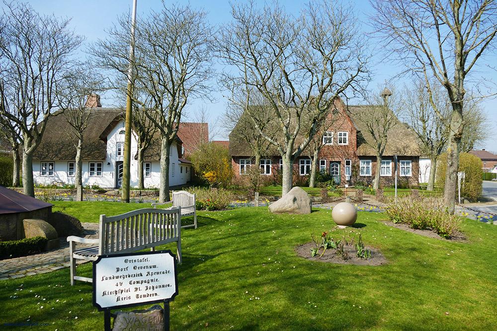 Oevenum, a village on the Island of Föhr