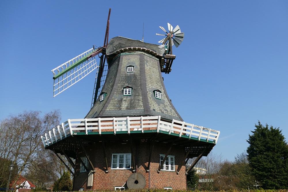 Wind Mill in Wyk