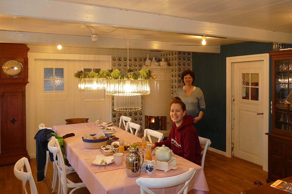Breakfast at a Frisian House on the Island of Föhr